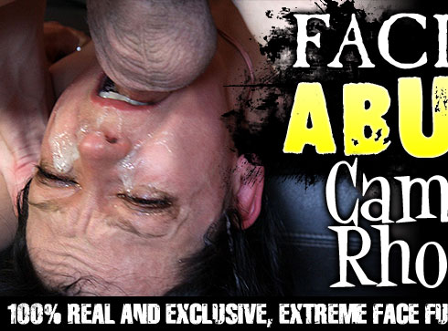 Facial Abuse Destroys Camilla Rhodes